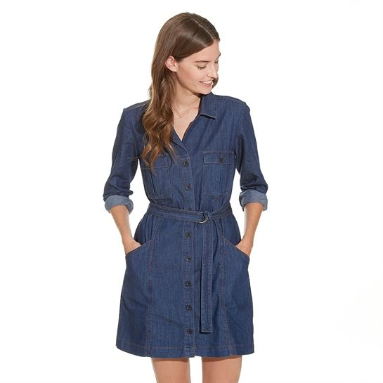 76da7fdee758f Robe chemise jean - Collection Robe en jean - Pimkie France   dans ...