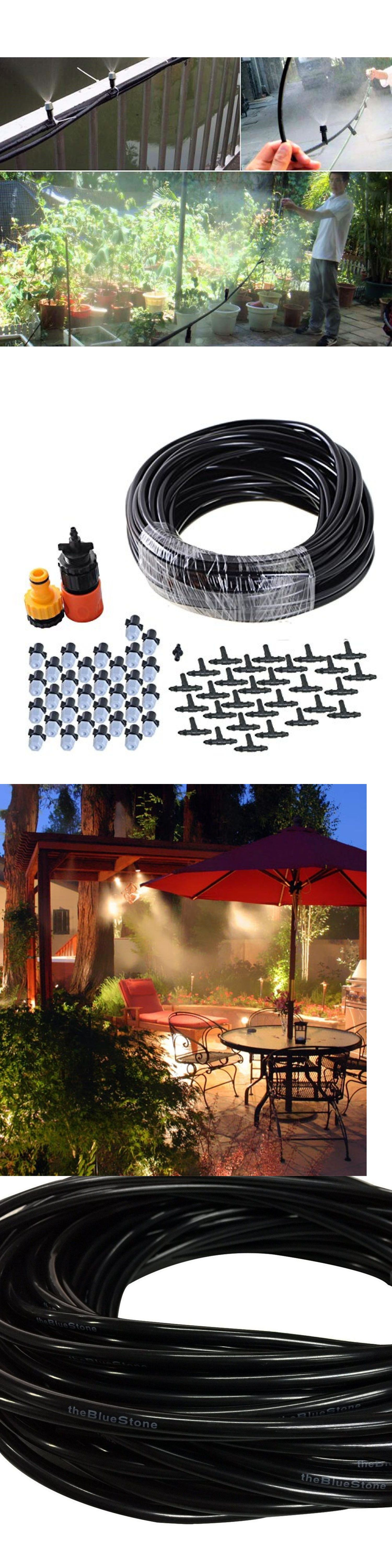 hose nozzles and wands 181015 outdoor misting system 50ft cooling