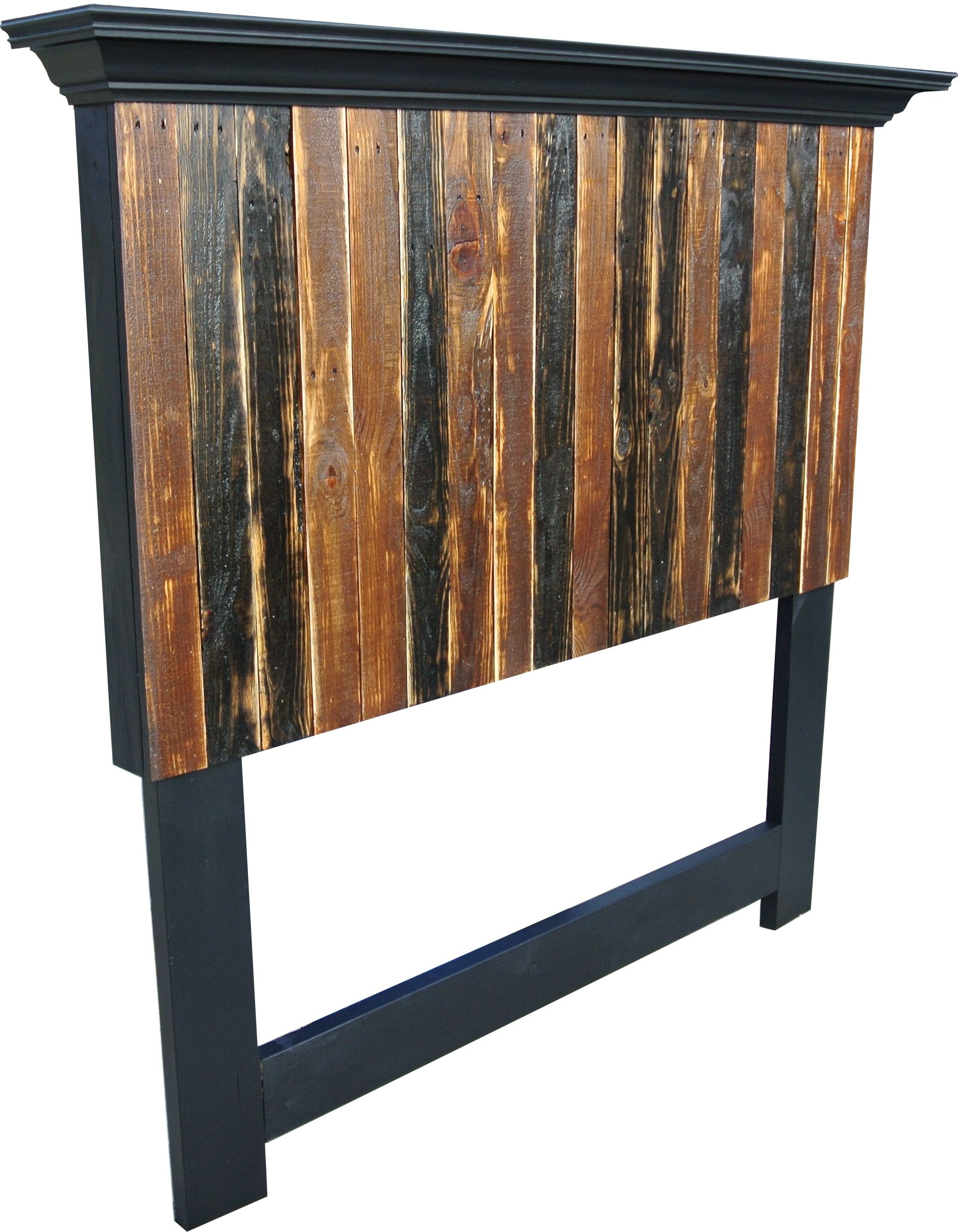 King Headboard Size King Or Queen Size Pallet Wood Style Headboard From Vintage