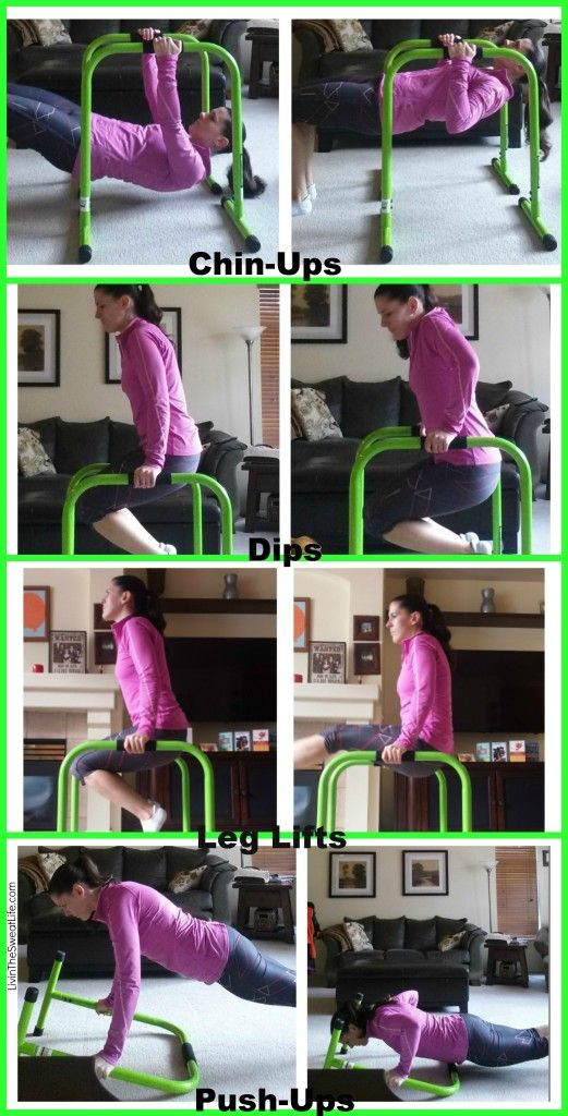 Lebert Equalizer Workout Check It Out Bar Workout Diy Workout Diy Gym