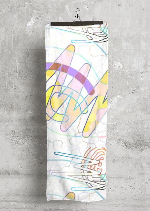Cashmere Silk Scarf - lama real lama by VIDA VIDA tgN5uV3Zm