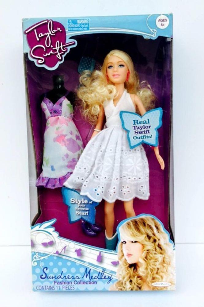 Taylor Swift Fashion Doll Sundress Medley 2010 Nib Taylor Swift Style Fashion Dolls Fashion