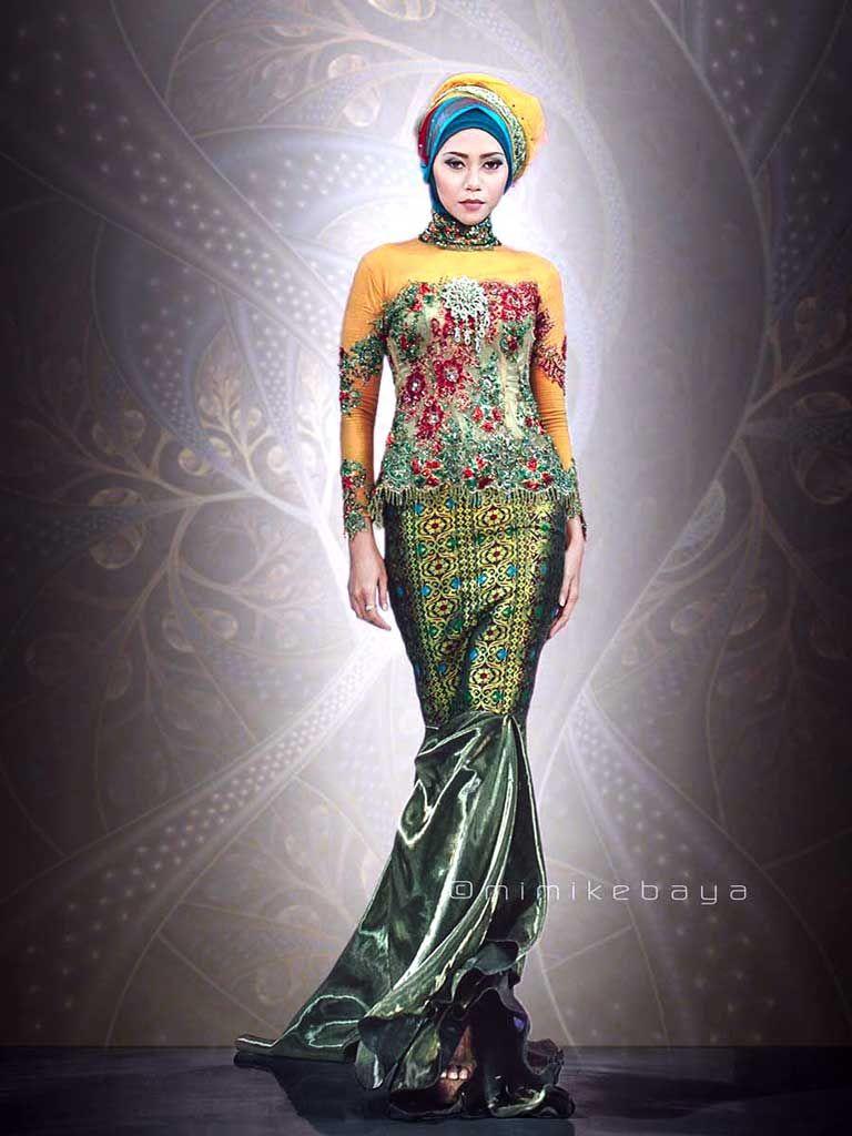 Kebaya Duyung Muslim Mimikebaya In 2019 Formal Dresses Kebaya