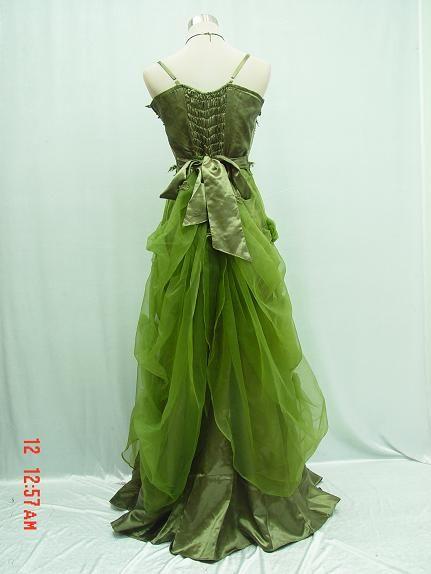 a58de0dfb6 CHERLONE Plus Size Satin Green Ball Gown Wedding Evening Bridesmaid Dress 18  20