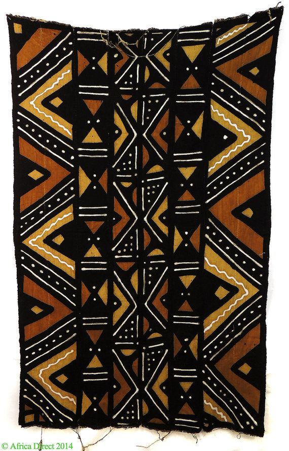 Mudcloth Bogolanfini Handwoven Dyed Mali African 88178