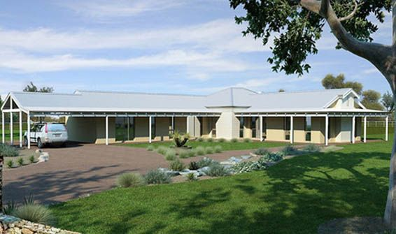 WA Country Builders Pty. Ltd. Home Designs: The Linton. Visit www ...