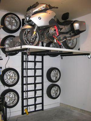 motorcycle atv snow mobile garage evolution pinterest garage d co garage et moto. Black Bedroom Furniture Sets. Home Design Ideas