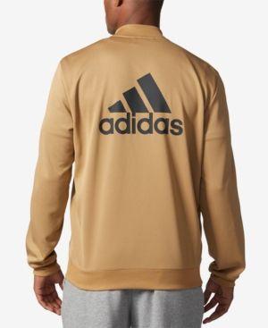 Logo adidas uomini tricot bomber, creato per macy's nero m
