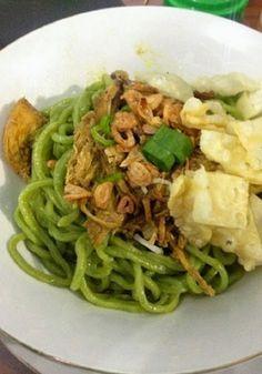 Cara Praktis Membuat Mie Ayam Hijau Resep Makanan Cina Resep Resep Makanan