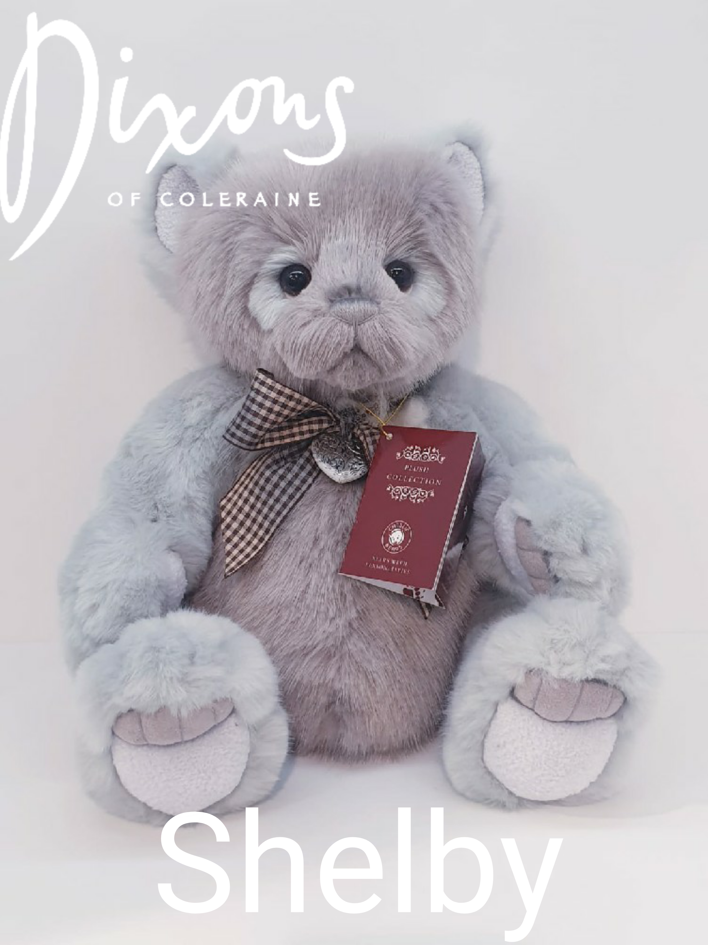 CB191924 Shelby by Charlie Bears plush jointed teddy bear