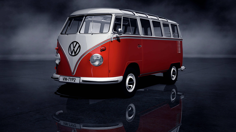 Vw Bus Wallpapers Bus Vw Volkswagen Transporter Volkswagen Bus Hd wallpaper retro old volkswagen van