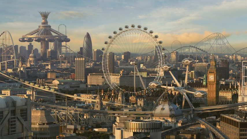 London City Future Wallpaper Cool Mobile The