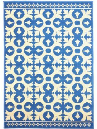 benuta Teppich Vintage Swing Blau 140x200 cm: Amazon.de: Küche ...