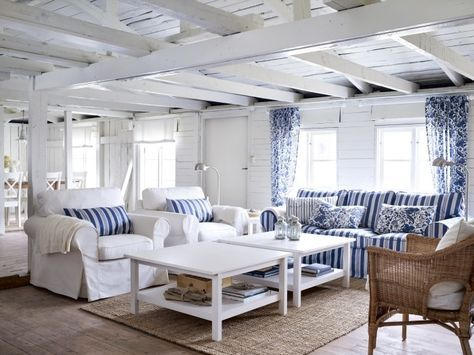 Best Unique Beach House Sofa 3 Living Room With Ektorp White 400 x 300