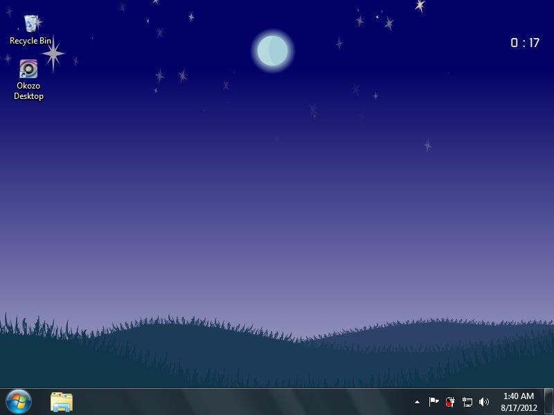Full HD Live Clock Wallpaper For Desktop Free Download Wallpapers