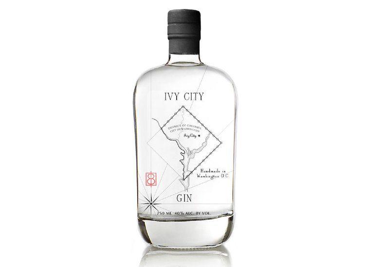 IVY CITY GIN #packaging #spirits #gin