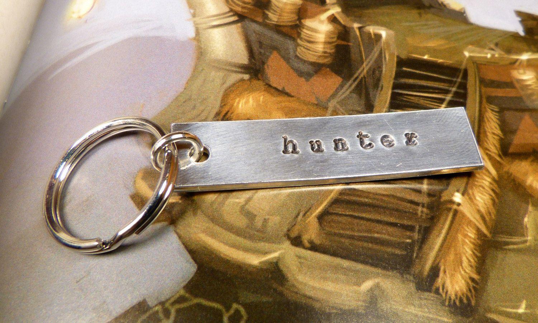 Warcraft Hunter Aluminum Key Chain. $12.00, via Etsy.
