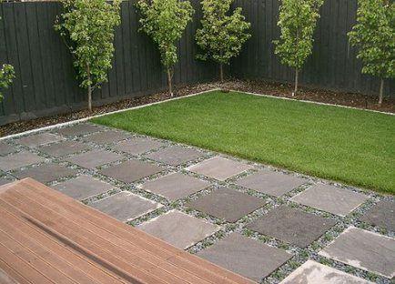 19 Trendy Backyard Ideas Pavers Cement Large Backyard