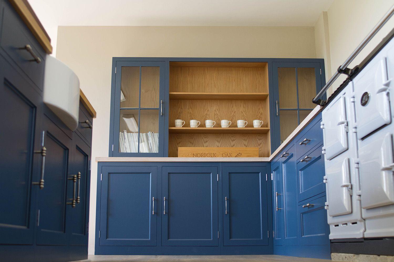 NAKED Kitchens | Stiffkey Blue Kitchen | Glass Door Wall Cabinets | Philly  Kitchen Inspiration | Pinterest | Glass Doors, Doors And Kitchens