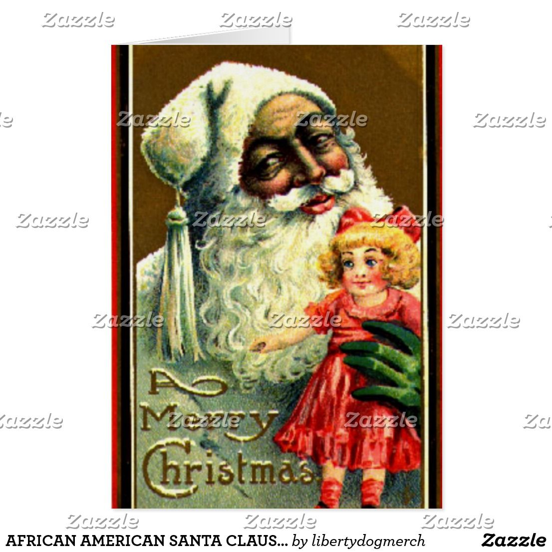African american santa claus christmas cards | Christmas Cards ...