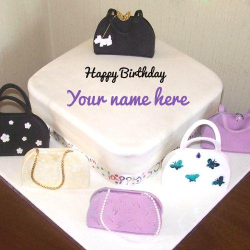Write Name On Birthday Cake For Sister Online Free Simone