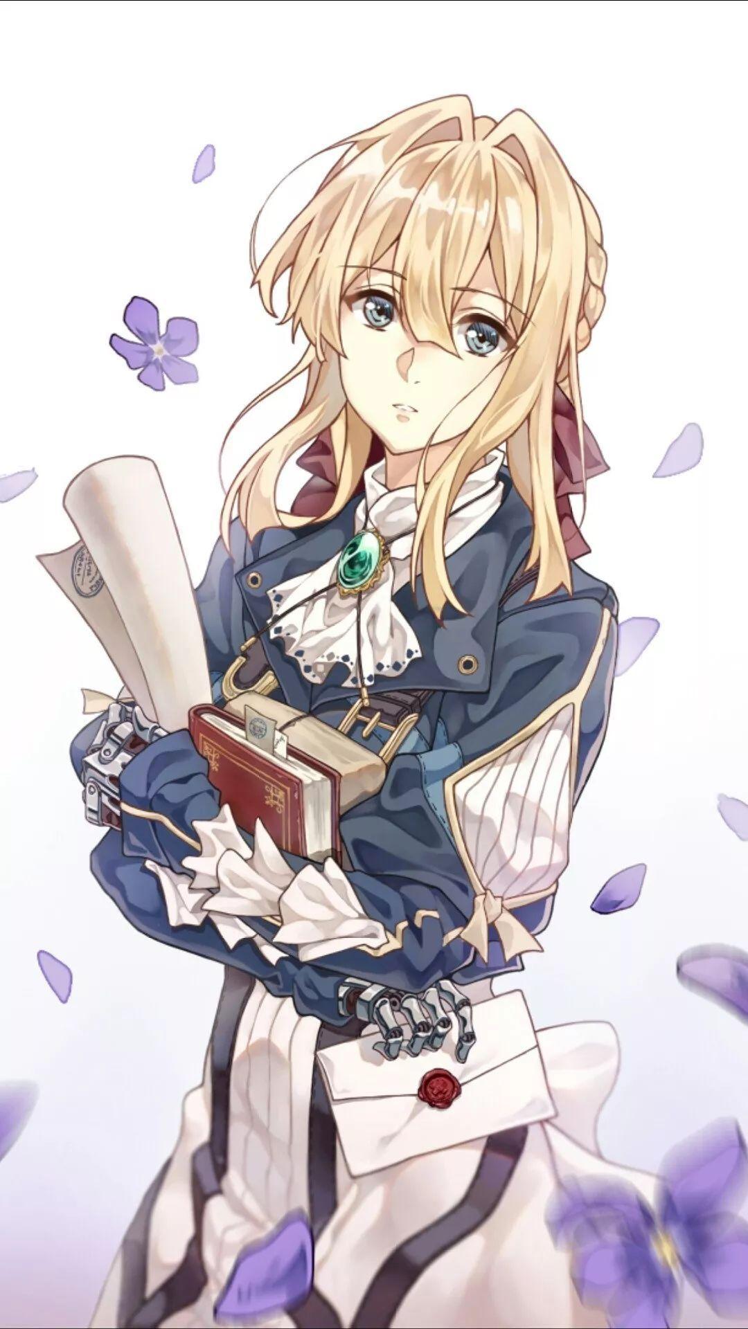 Anime Art Violet Ervergarden Violet Evergarden Violet Evergarden Anime Violet Evergreen Anime