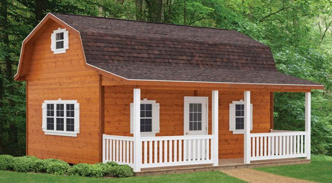 12x16 barn shed with porch plans Barn guest house plans