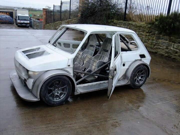 330 Hp Honda Blackbird With Images Fiat 126 Fiat Small Cars