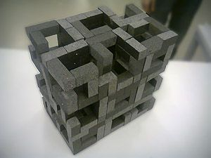 Solid void cube pinterest architecture exercise and for Solid void theory architecture