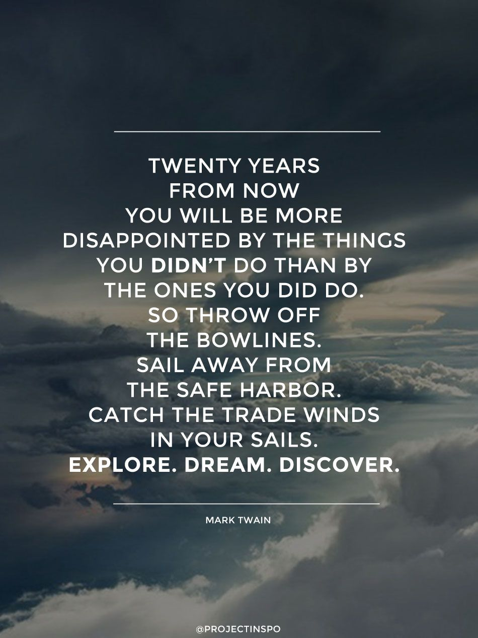 Most Meaningful Quotes 20 Of The Most Inspiring Travel Quotes Of All Time  Mark Twain