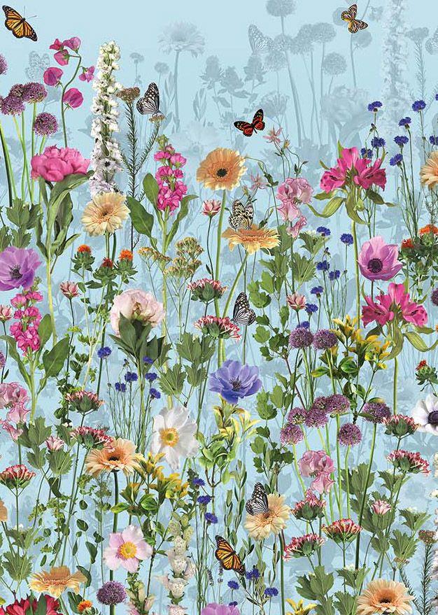 Deya Meadow wallpaper by Matthew Williamson at Osborne