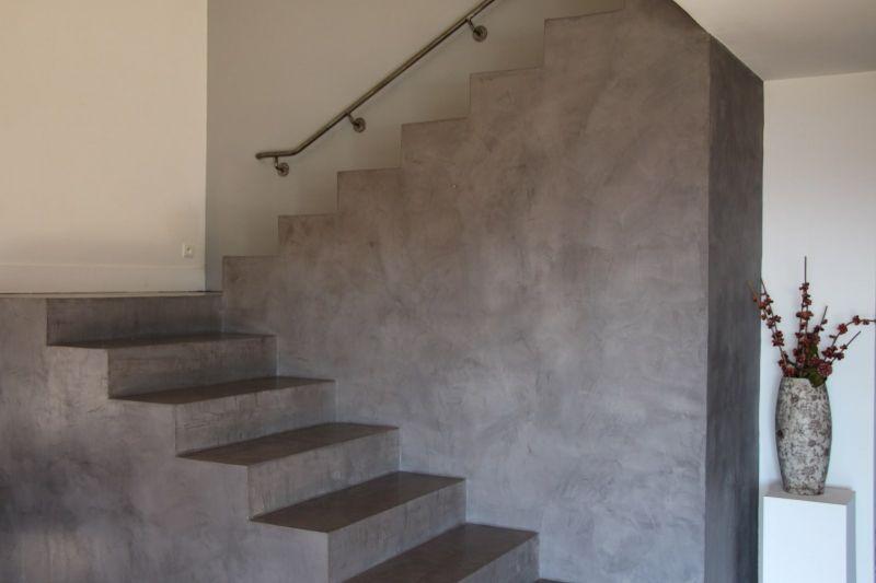 escalier b ton cir marius aurenti a fleur de chaux montpellier saint cloud pinterest. Black Bedroom Furniture Sets. Home Design Ideas