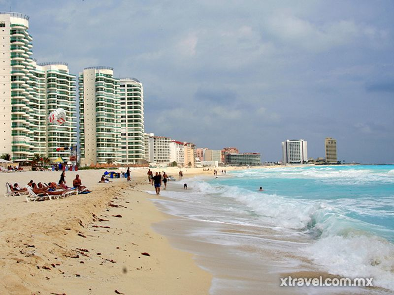 Playas de Cancún.