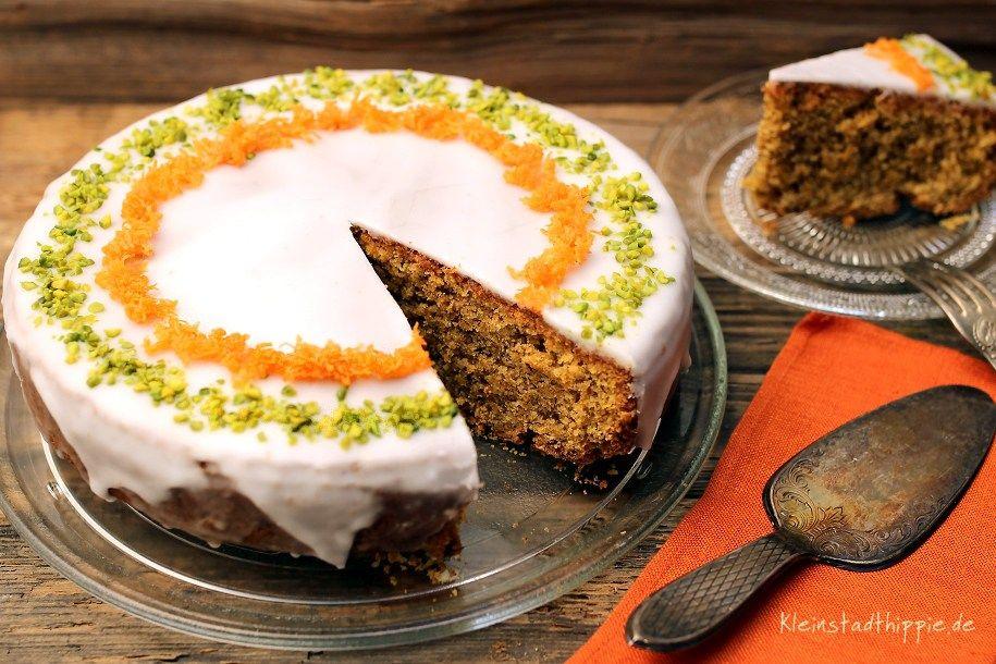 Karottenkuchen vegan, Schweizer Kuchenspezialität