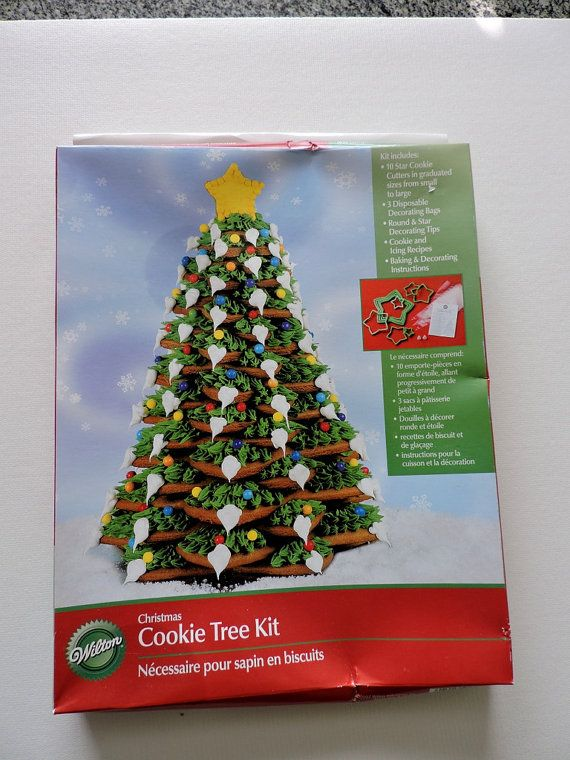 Christmas Cookie Cutter - Wilton Build a Cookie tree - Christmas