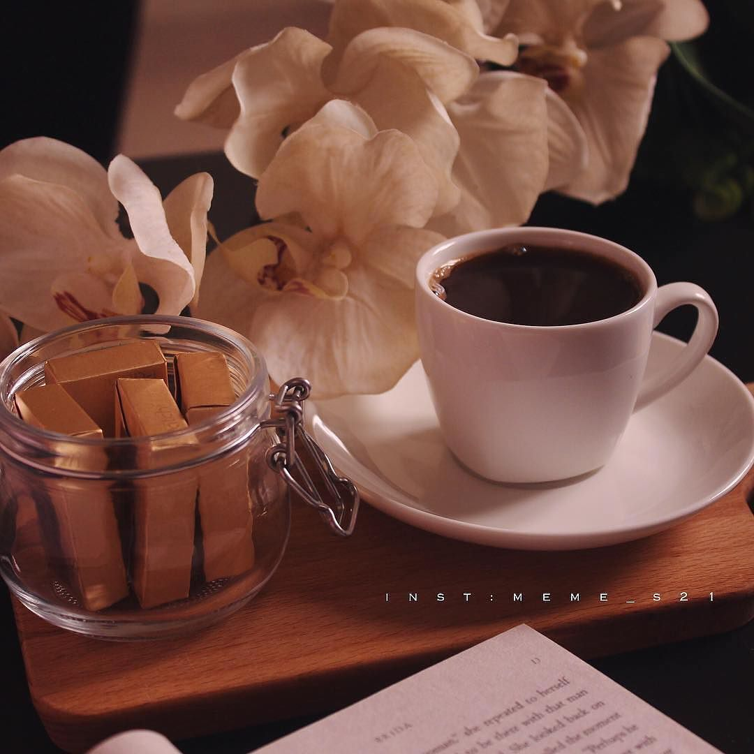 اثنان تميل لهما النفس فنجان قهوة و ورد ㅤ ㅤ ㅤ By Meme S21 ㅤ Chosen By Rawasi ㅤ التقييم مـن 5 ㅤㅤㅤㅤ تـاقـزات Morning Coffee Beautiful Food My Coffee