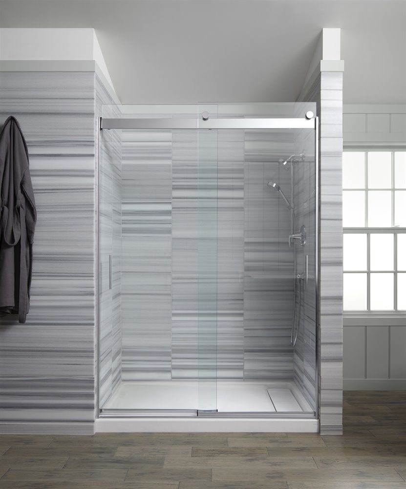 Kohler Levity 60 In 1 4 In Glass Thickness Shower Door With Handle