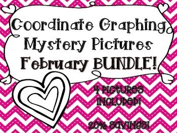 coordinate graphing pictures february bundle holiday activities. Black Bedroom Furniture Sets. Home Design Ideas