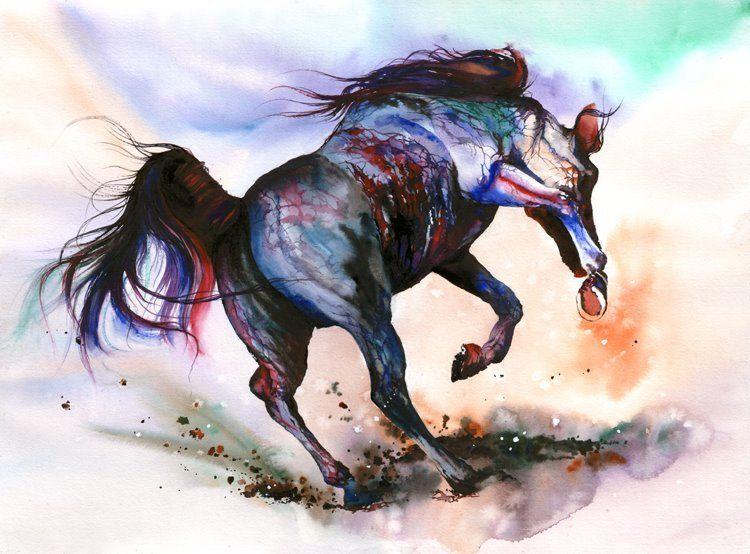 By peter williams art horse art art terms