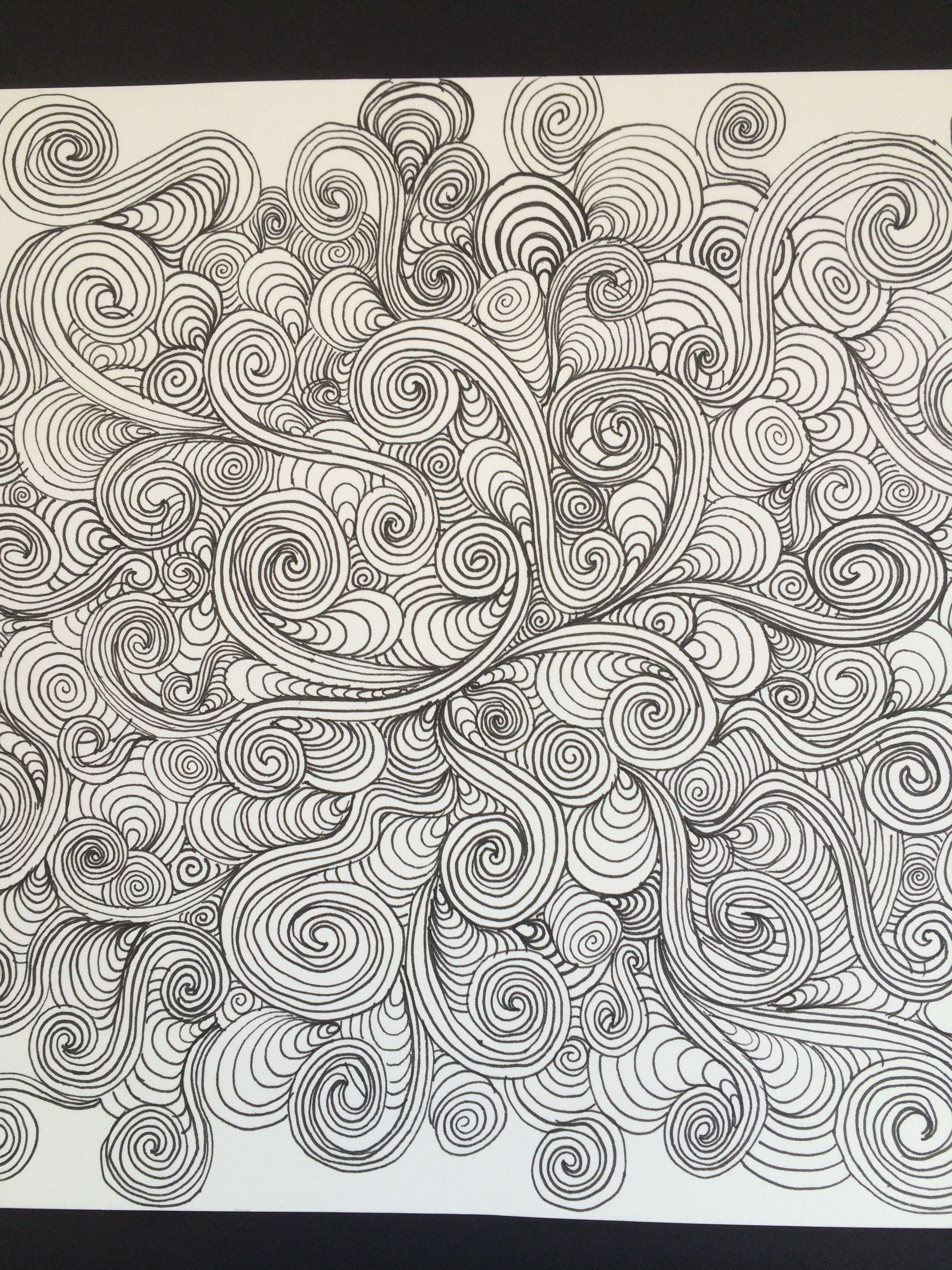Coloring Pages Of Swirls