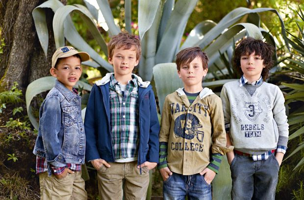 Benetton Kid Collection: College team style