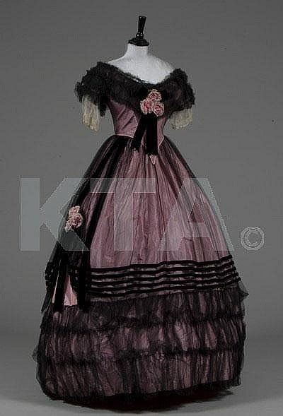 dresses and gowns from 1800s vintage dresses 1800s