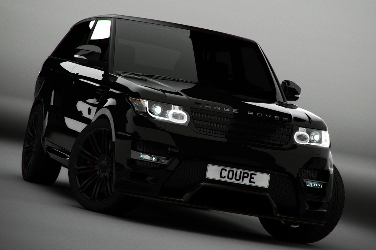 Modified range rover sport coupe launched pictures with