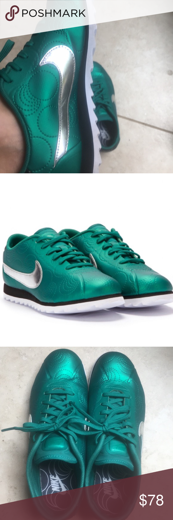 ef2b2154a9ee NIKE Women s CORTEZ ULTRA (MYSTIC GREEN   BLACK) One of the most iconic  sneakers
