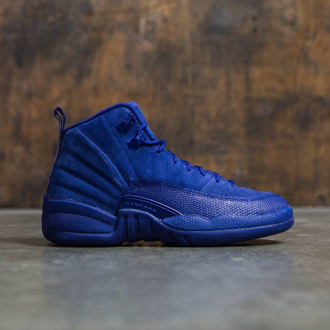 Air Jordan 12 Retro (GS) Big Kids (blue