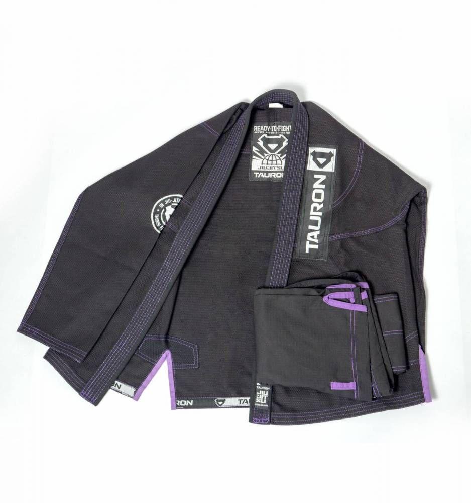 Kimono Tauron - Preto   Roxo  0f0fbbba89ef0