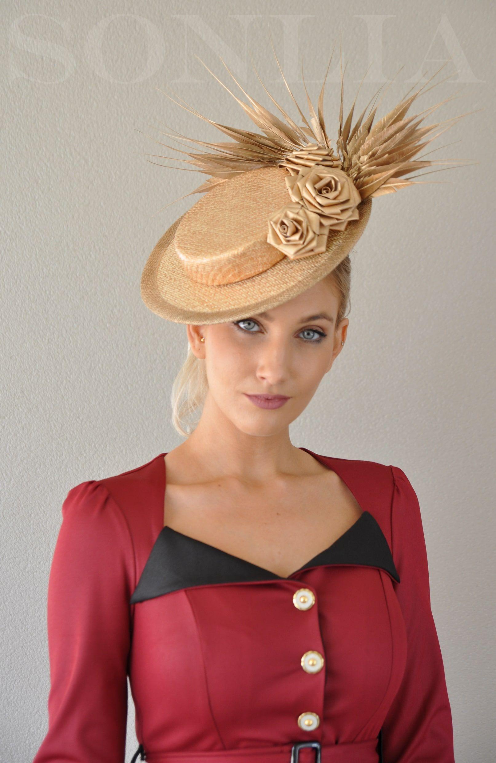 00fc5c6774365 Agustina Boater'' Sonlia Millinery - Sonlia Fashion | Hats | Hats ...