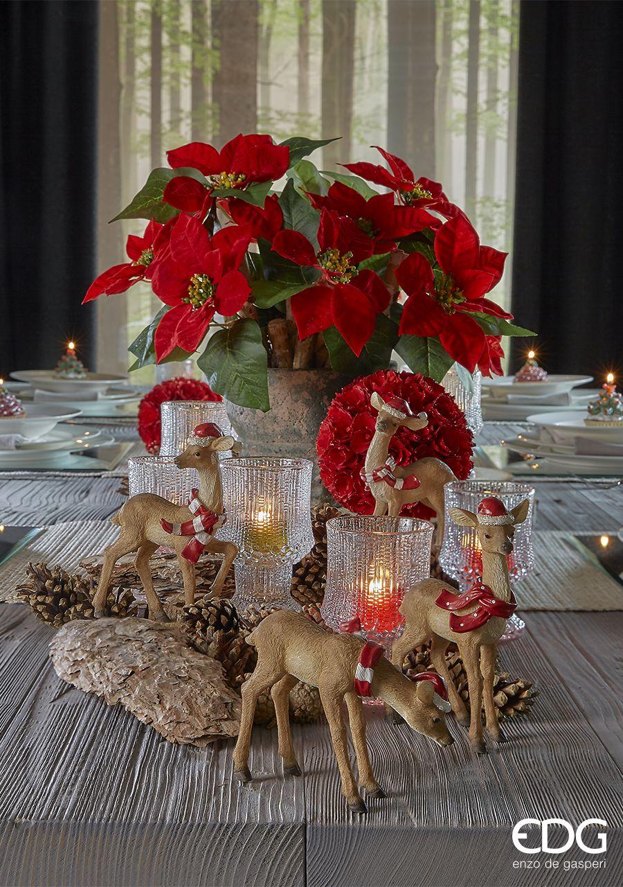 Natale Edg.Edg Enzo De Gasperi Christmas Collection 2016 Christmas Table Centerpieces Christmas Decorations Christmas Table