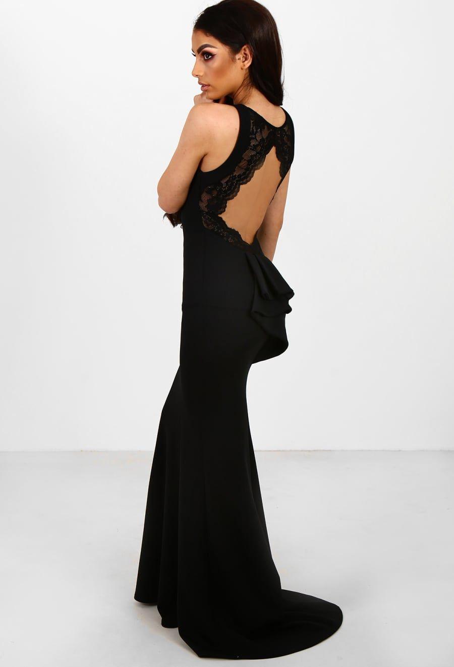 Black evening dress dressi pinterest black evening