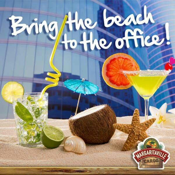 Bring the beach to the office